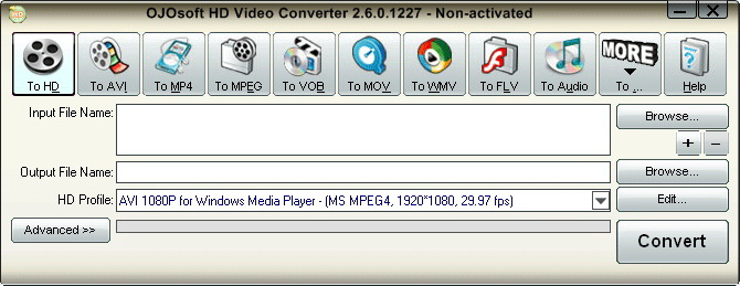 OJOsoft HD Video Converter