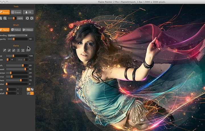 Flame Painter2 For Mac