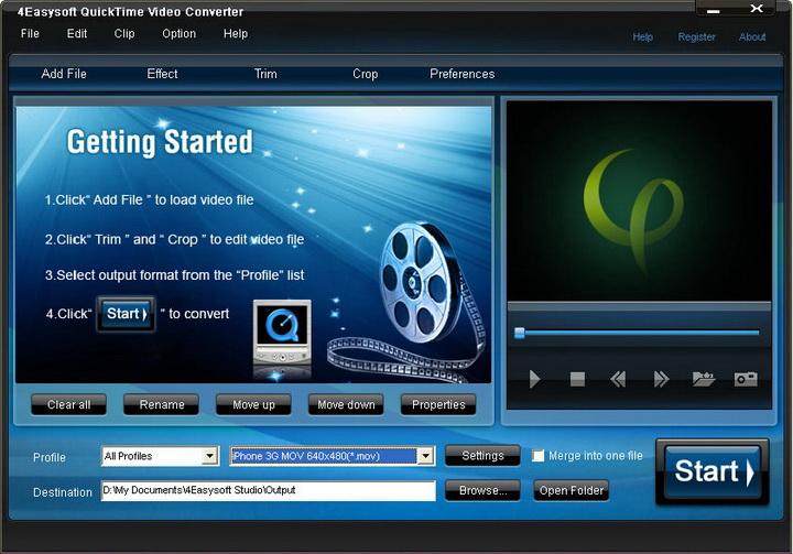 4Easysoft Quicktime Video Converter
