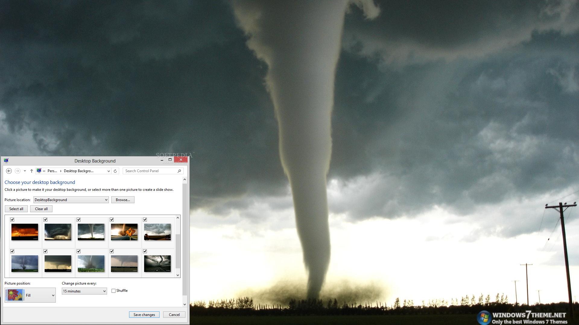 Tornado Windows 7 Theme