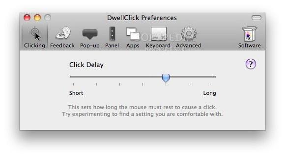 DwellClick For Mac