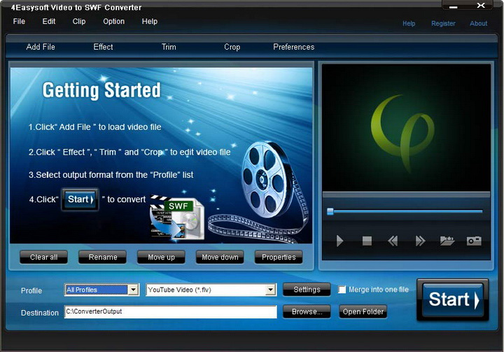 4Easysoft Video to SWF Converter