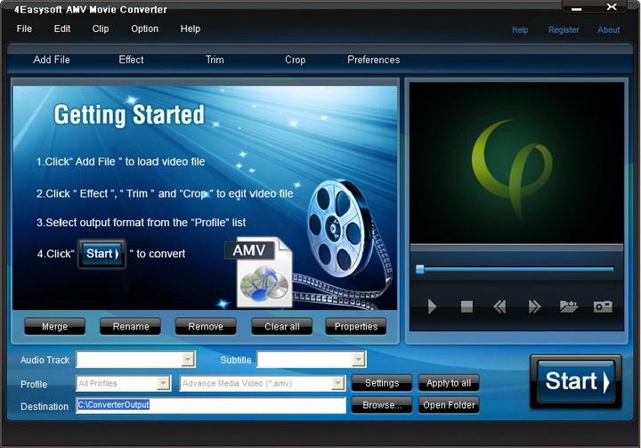 4Easysoft AMV Movie Converter