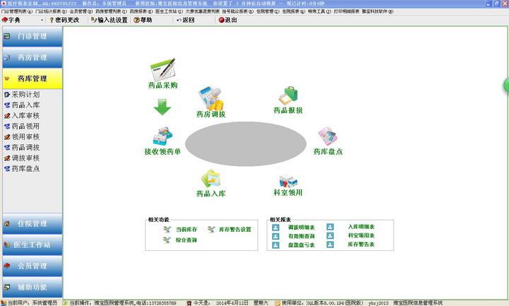 雅宝医院信息管理系统