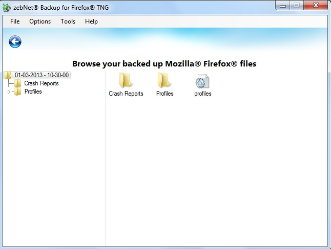Backup for Firefox