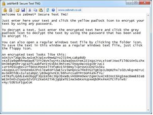 zebNet Secure Text