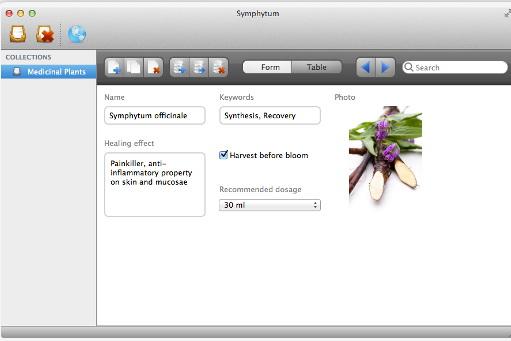 Symphytum For Mac