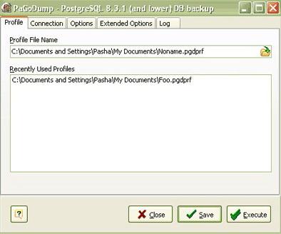 PaGoDump for PostgreSQL