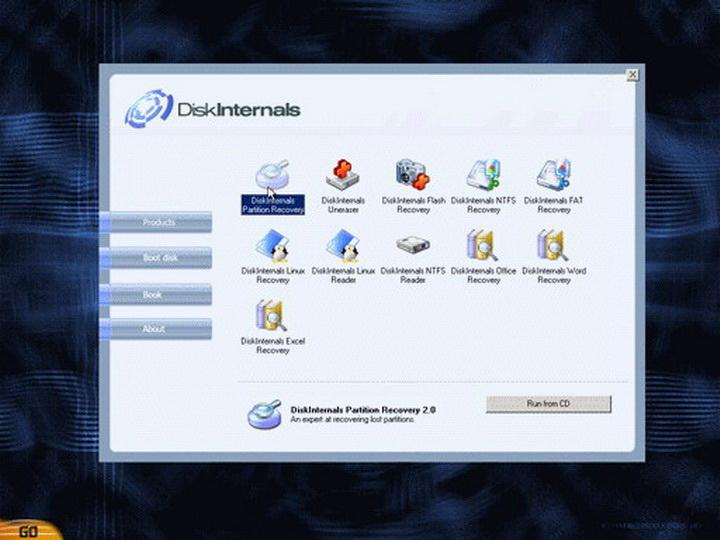 DiskInternals Boot CD