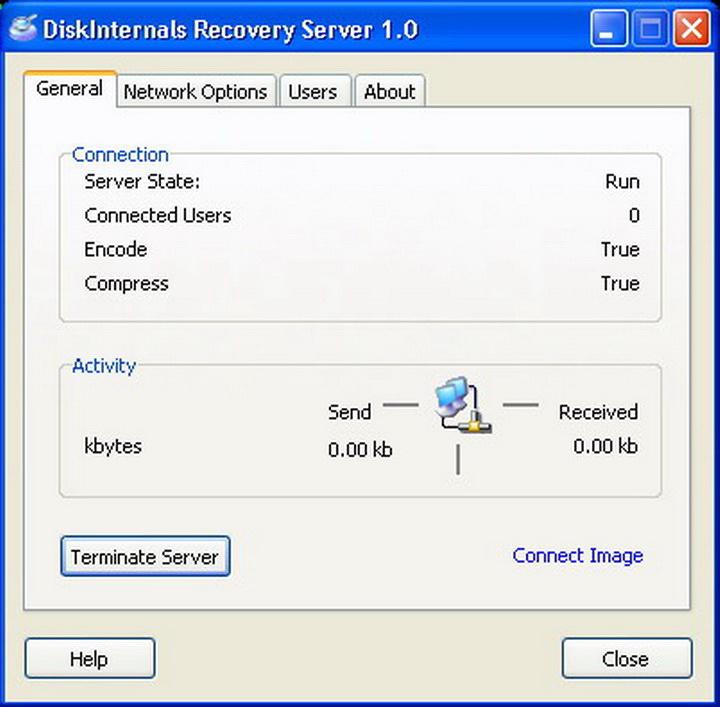 DiskInternals Recovery Server