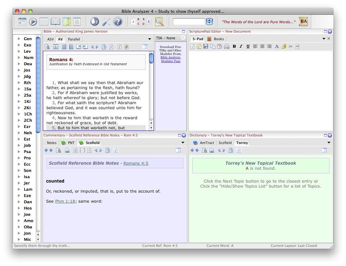 Bible Analyzer For Mac