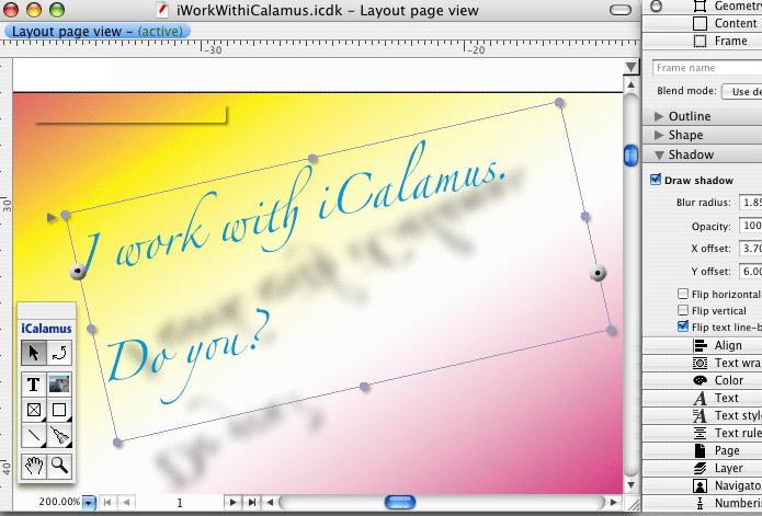 iCalamus For Mac