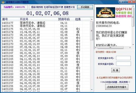 金帝重庆11选5计划软件