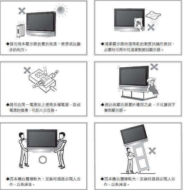 奇美多媒体液晶显示器TL-32S3000T型使用说明书