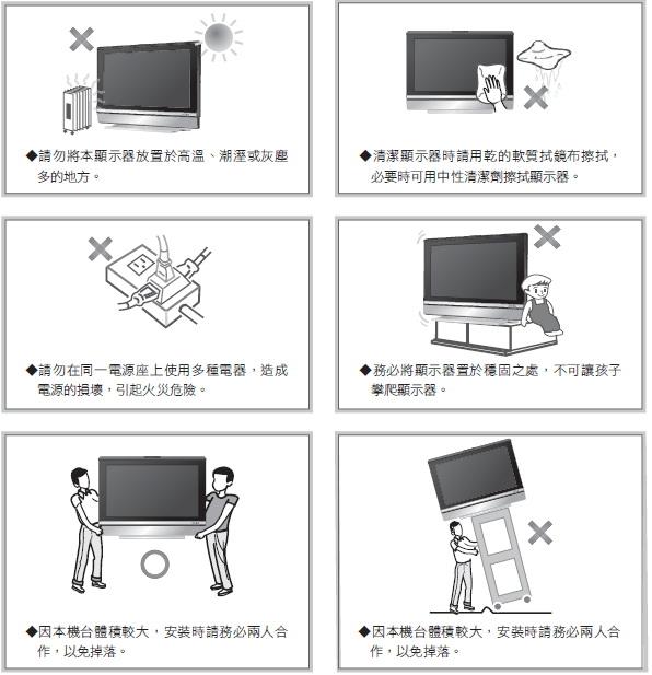 奇美多媒体液晶显示器TL-37L6000D型使用说明书