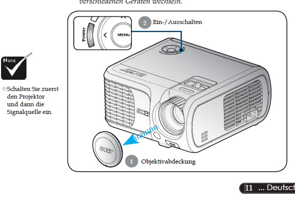 宏基P1265P投影机使用说明书