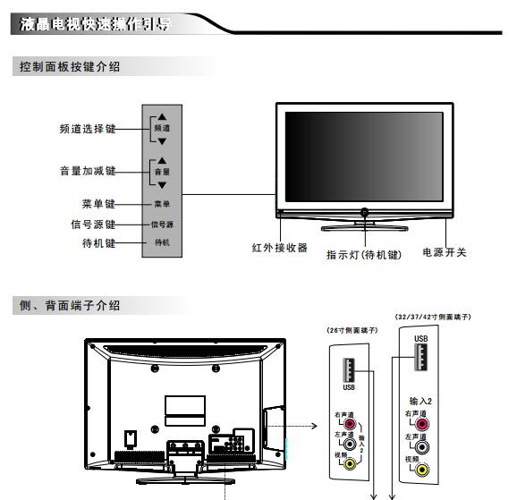 创维32M30SW液晶彩电使用说明书