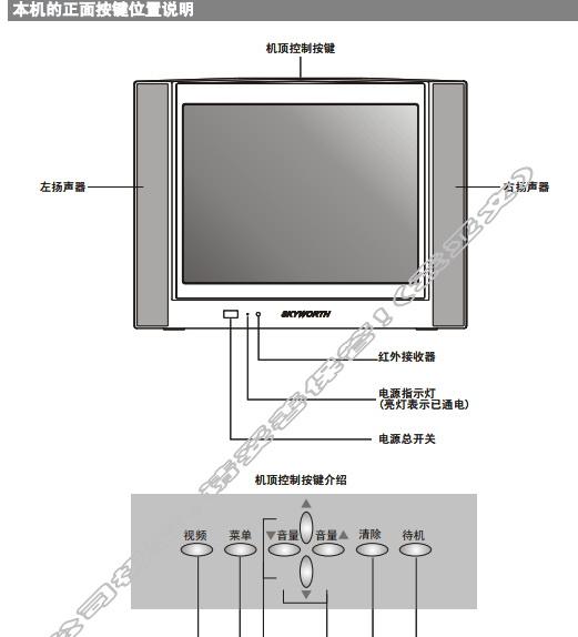 创维25NM9000(4T36机芯)彩电使用说明书