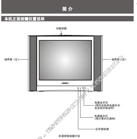 创维21N61AA(3P30机芯)彩电使用说明书