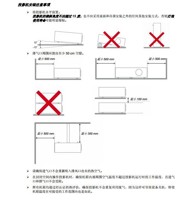 丽讯D867影机使用说明书