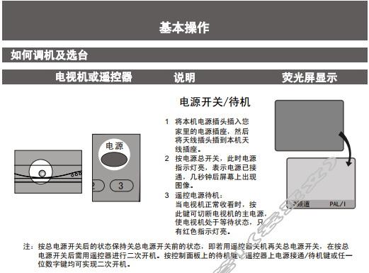 创维25N66AA(4T36机芯)彩电使用说明书