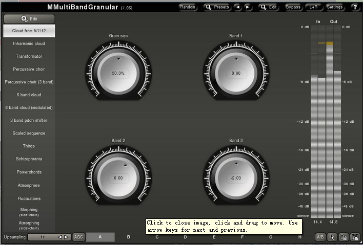 MMultiBandGranular (32-bit)