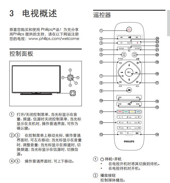 飞利浦42PFL5V40/T3液晶彩电使用说明书