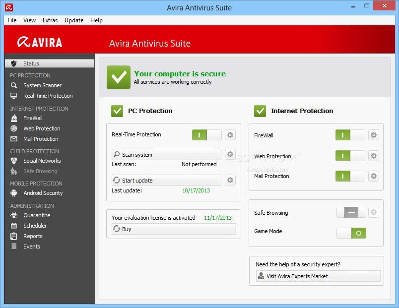 Avira Antivirus Suite