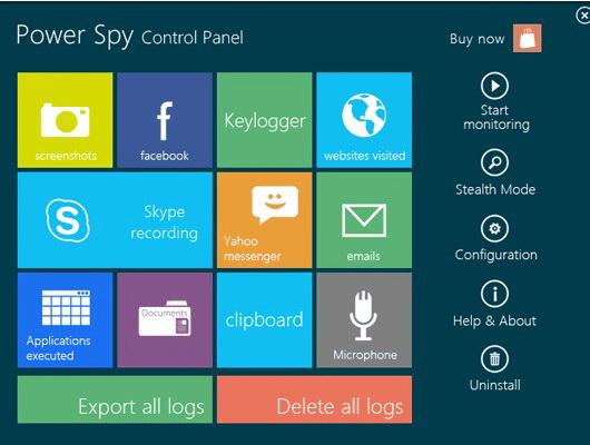 Surveillance Keylogger