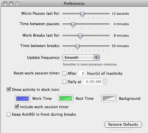 AntiRSI For Mac