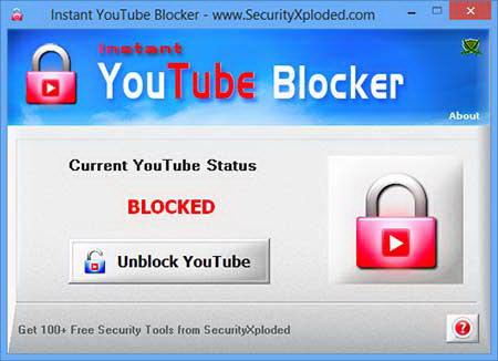 Instant You Tube Blocker