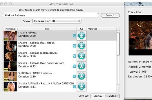 MovieSherlock Pro For Mac