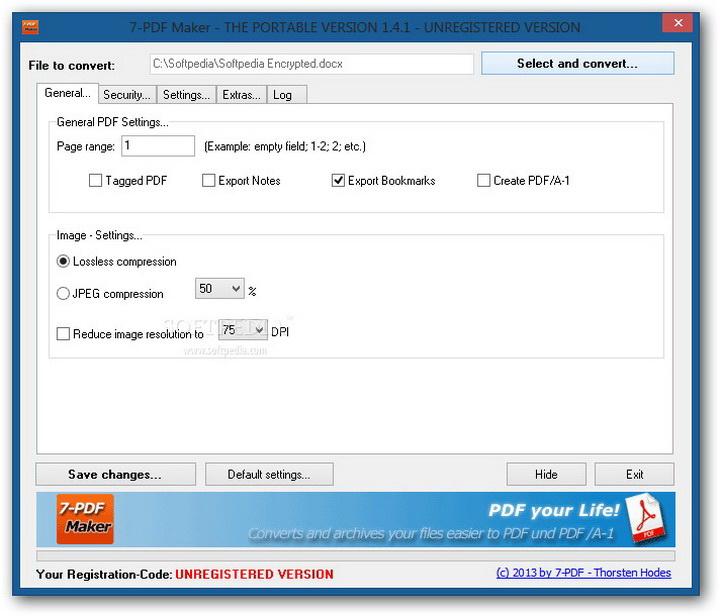 7-PDF Maker Portable