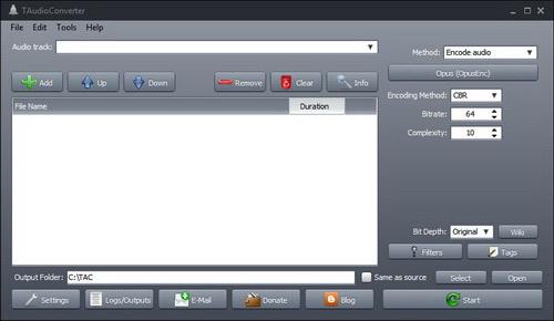 TAudioConverter Portable(64bit)