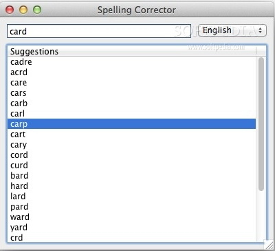 Spelling Corrector For Mac