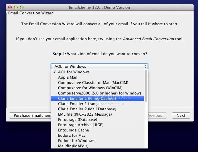 Emailchemy For Mac 10.7