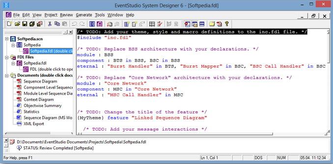 EventStudio System Designe