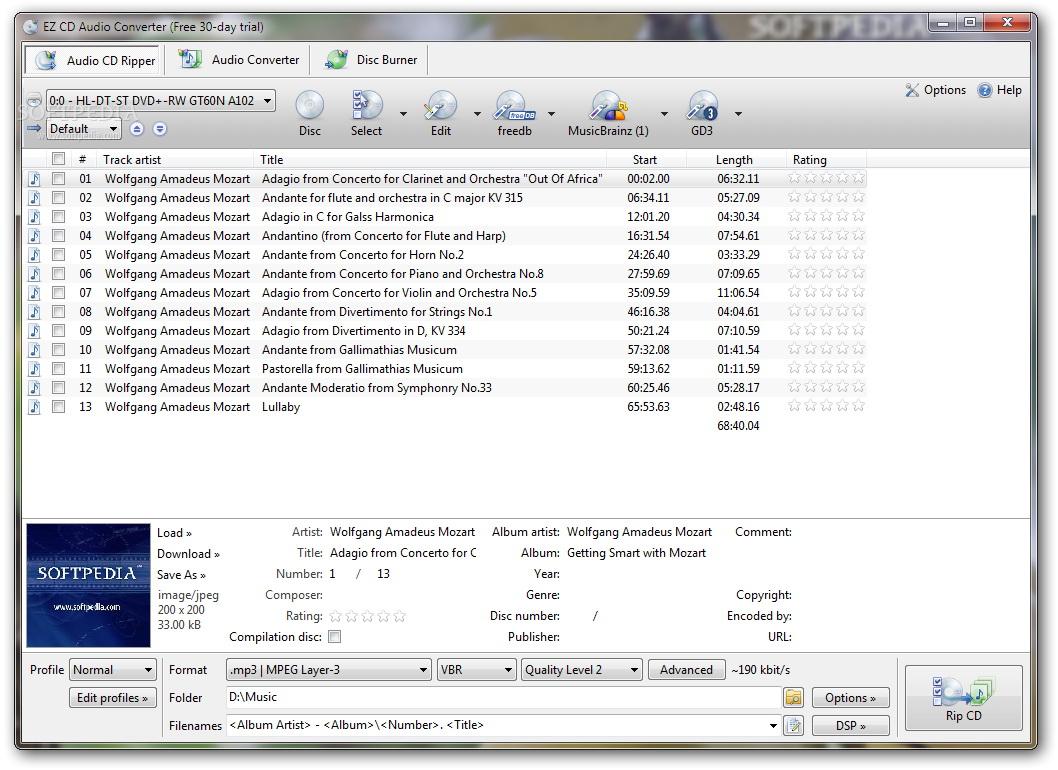 EZ CD Audio Converter Ultimate(x64)
