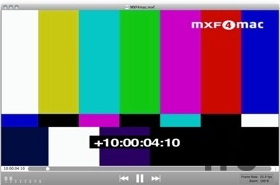 MXF4mac Player For Mac