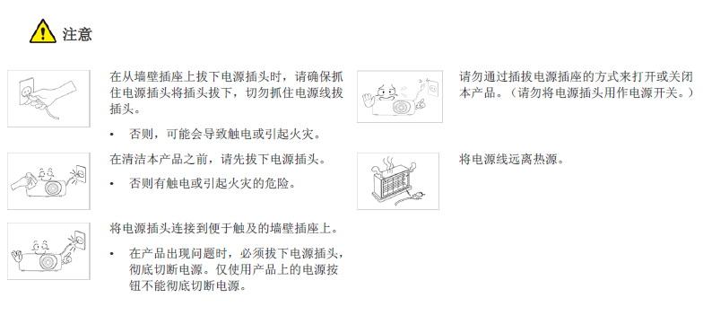 三星SP-L351投影机使用说明书