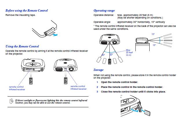 爱普生EMP-1700投影仪使用说明书