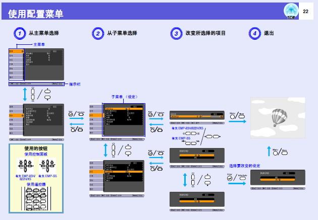 爱普生EB-Z8050W投影仪使用说明书