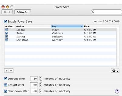 Power Save Mac