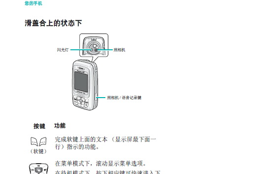 三星SCH-M309手机使用说明书