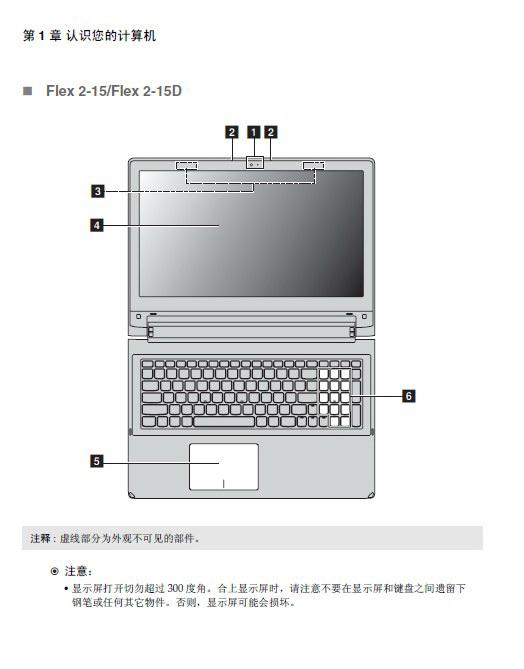 联想Flex 2-15笔记本电脑使用说明书
