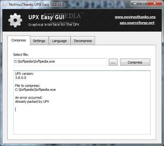 UPX Easy GUI