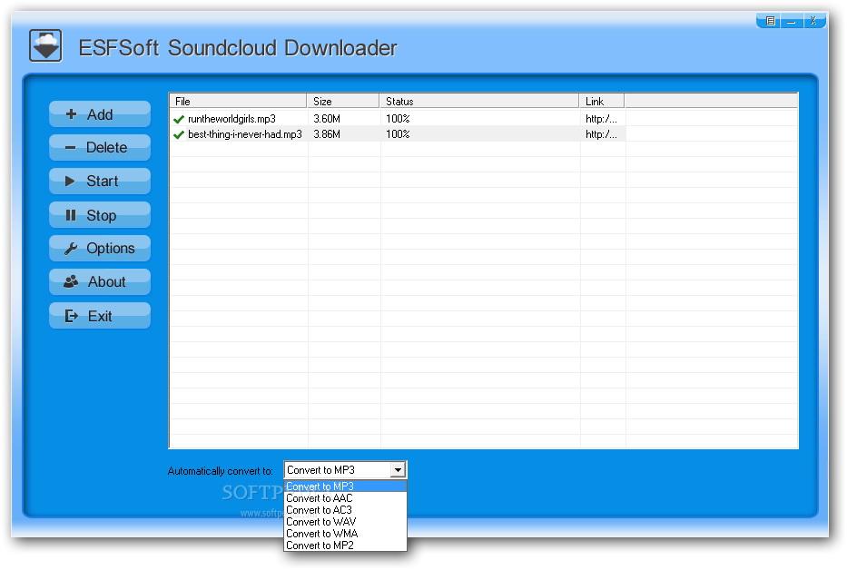 ESFSoft Soundcloud Downloader