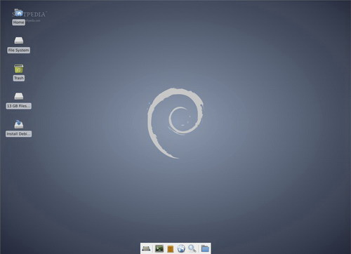 Debian Live Xfce For Linux(32bit)