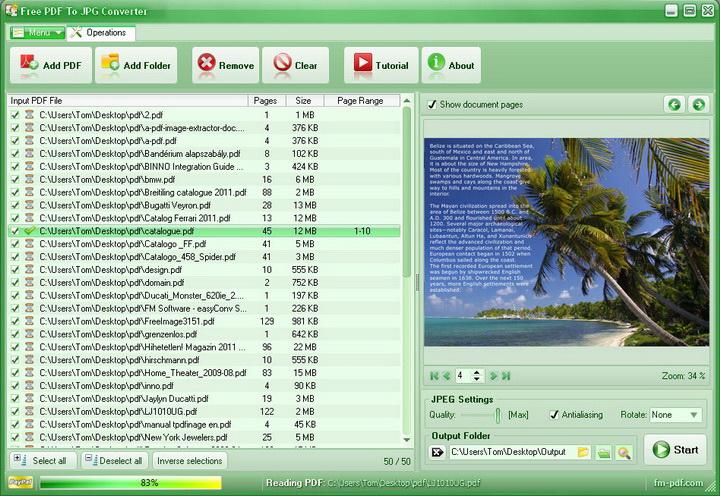 FM PDF to Image Converter Pro