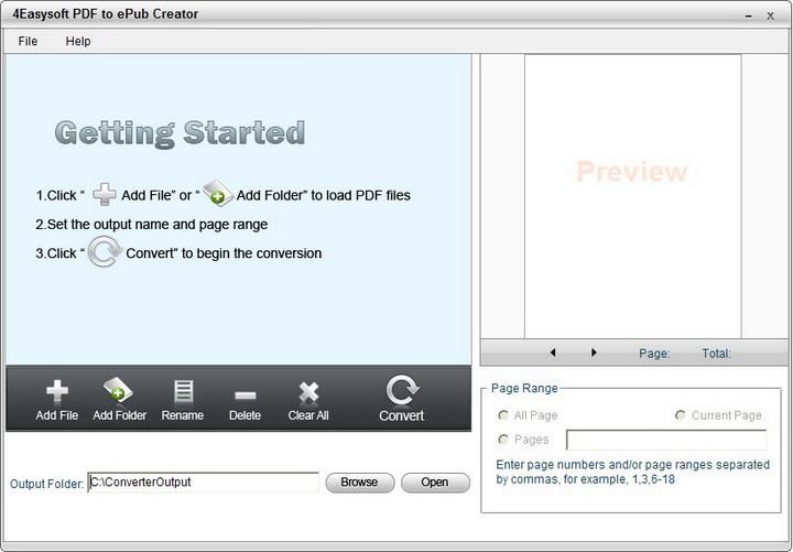 4Easysoft PDF to ePub Creator